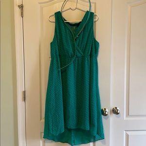 18/20 Lane Bryant dress w/ belt. EUC
